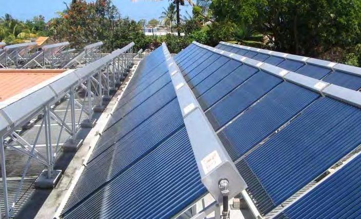 Agua caliente solar linea sfm grandes vol menes - Agua caliente solar ...